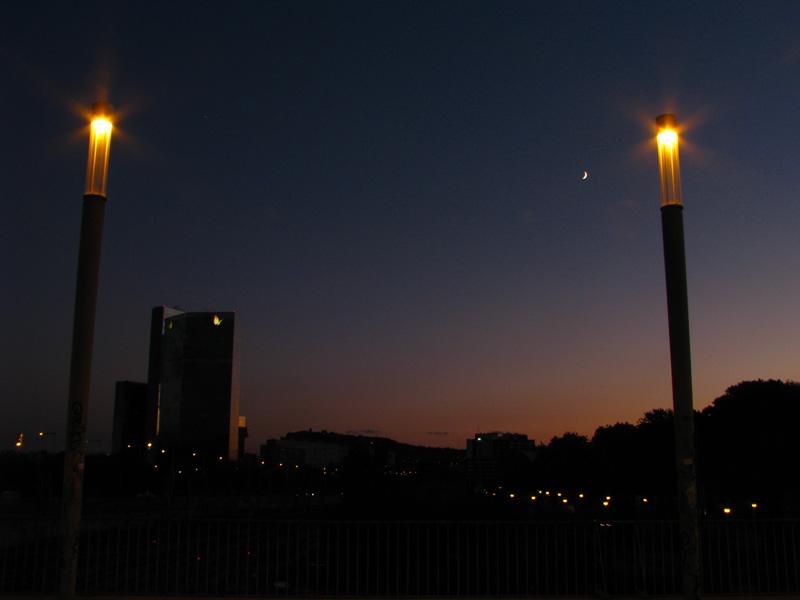 večer v Barceloně