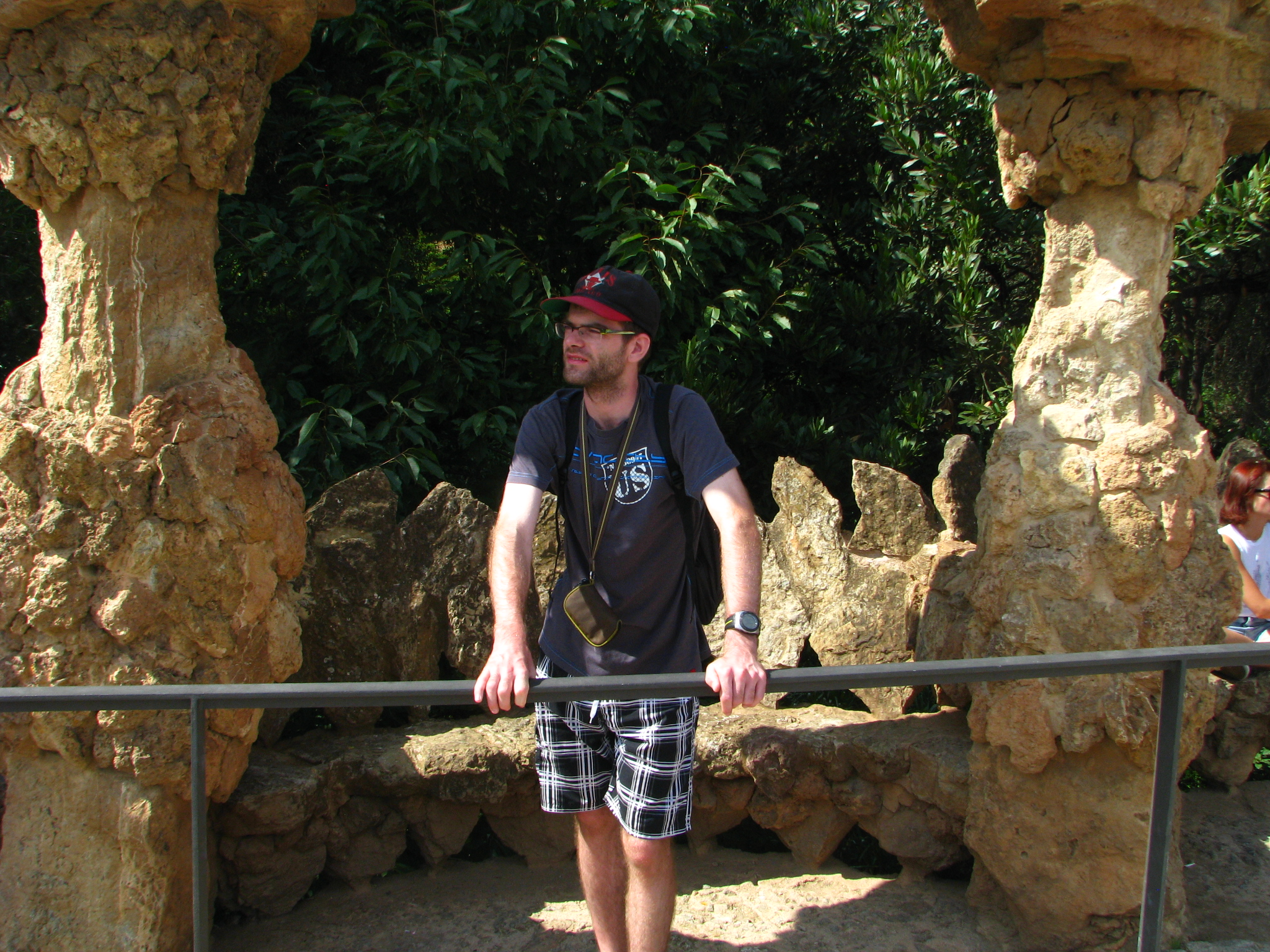 terasová cesta v parku Güell