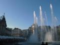 fontána v centru