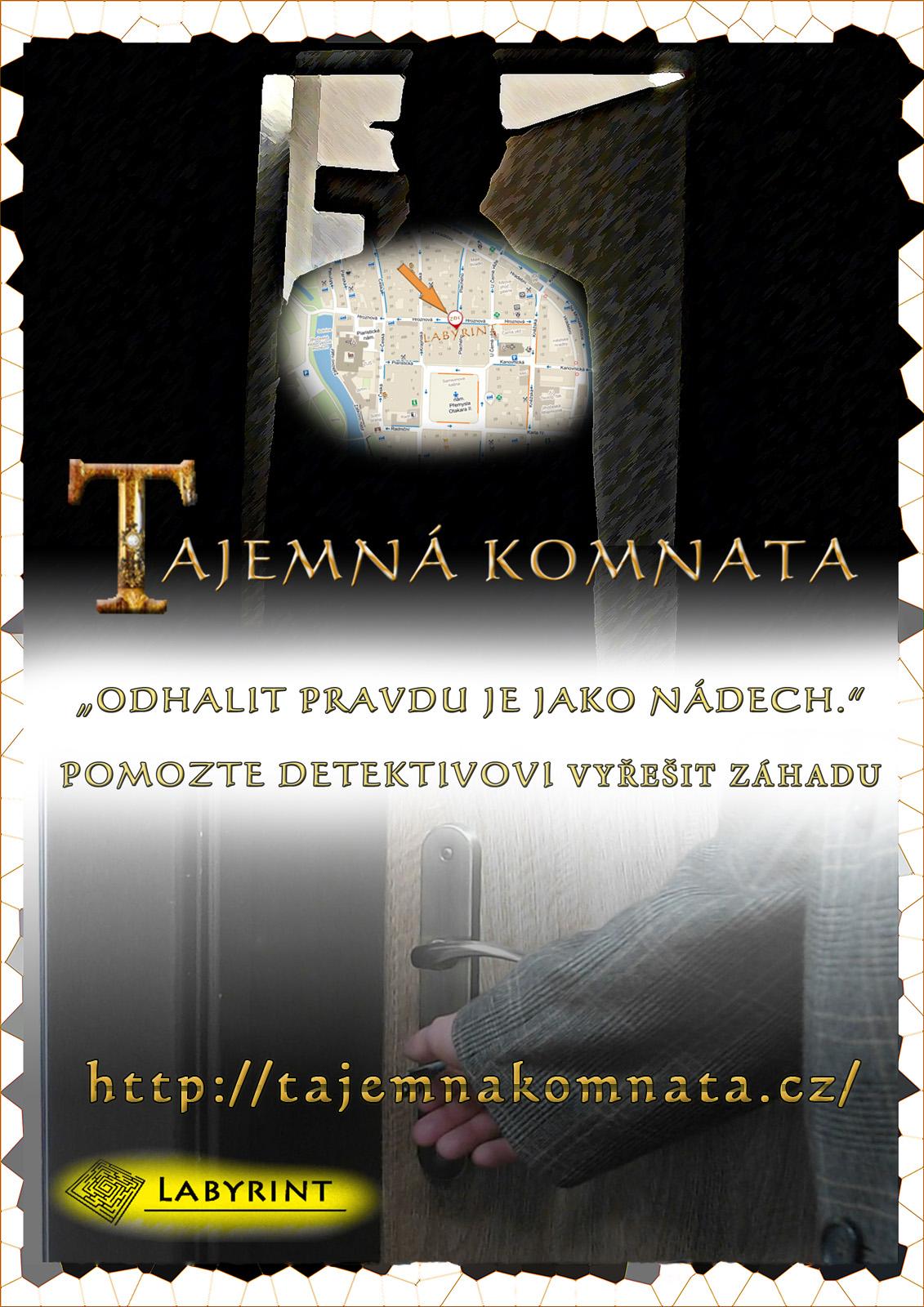 plakát k Tajemné komnatě