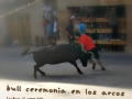tématický plakátek k slavnostem odvahy v Los Arcos