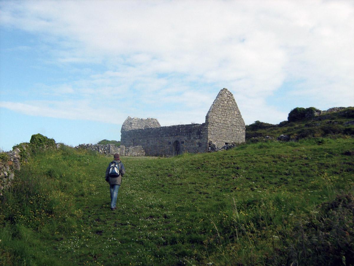 zbytky nejstaršího ostrovního kostela