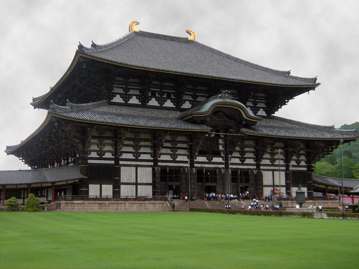 chrám Todaid Ji s druhým největším Budhou v Japonsku
