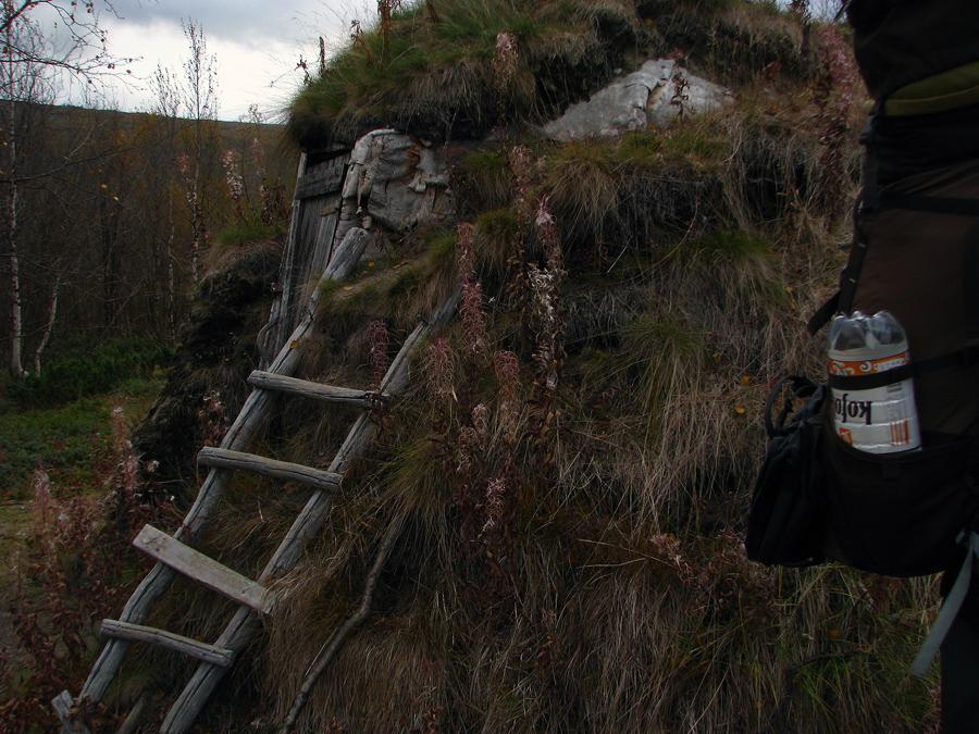 původní sámské obydlí