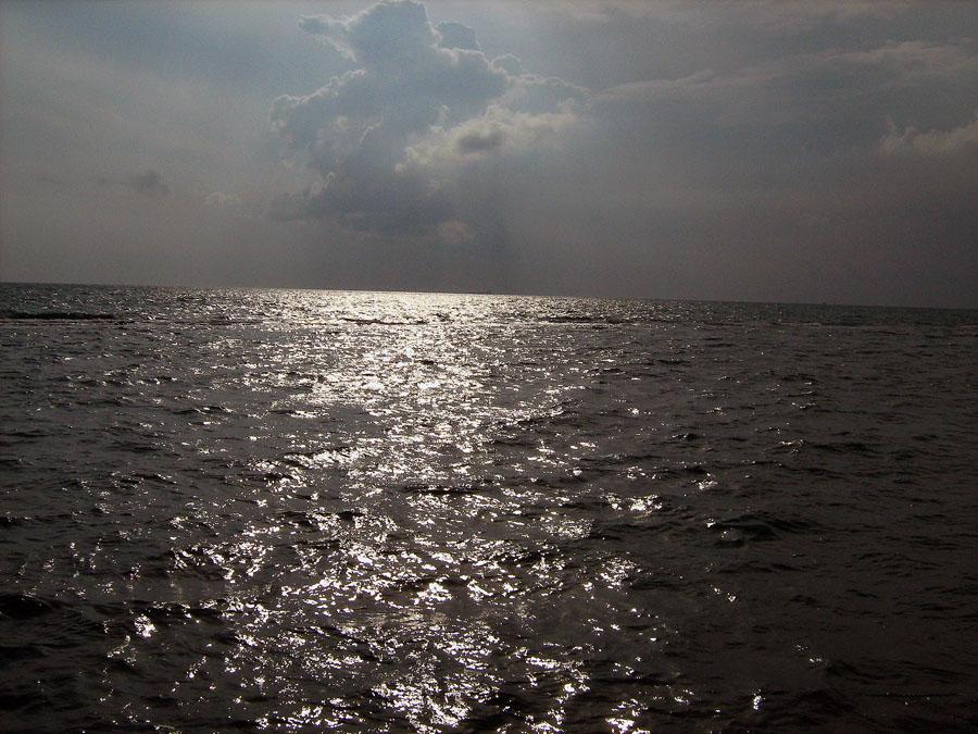 mé první setkání s mořem
