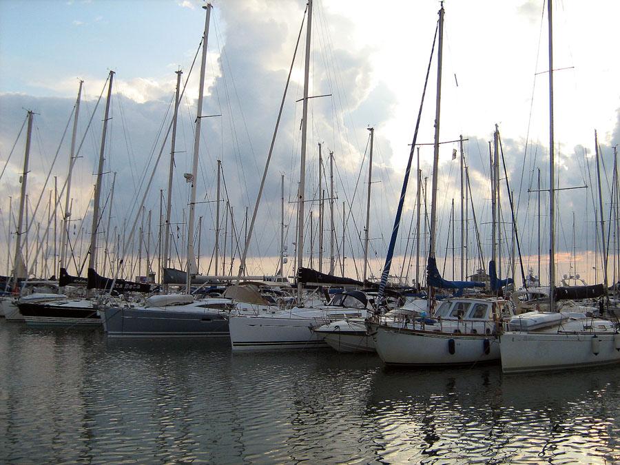 přístav Ostia