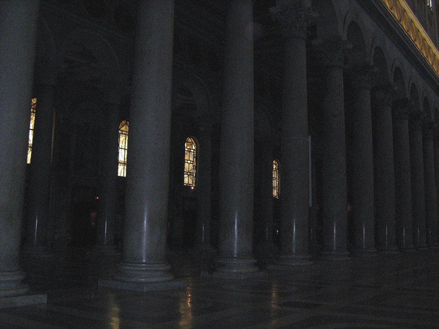 sloupořadí v bazilice Svatého Pavla