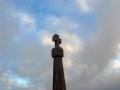 památník nad São Martinho do Porto