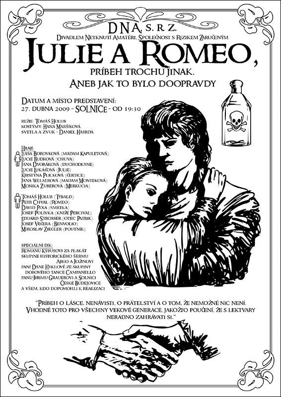 Julie a Romeo, příběh trochu jinak.