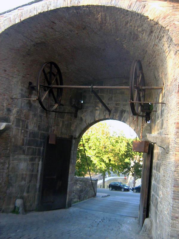 vstup do hlavního města Navarry