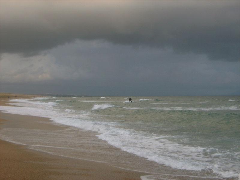 pobřeží v Bayone