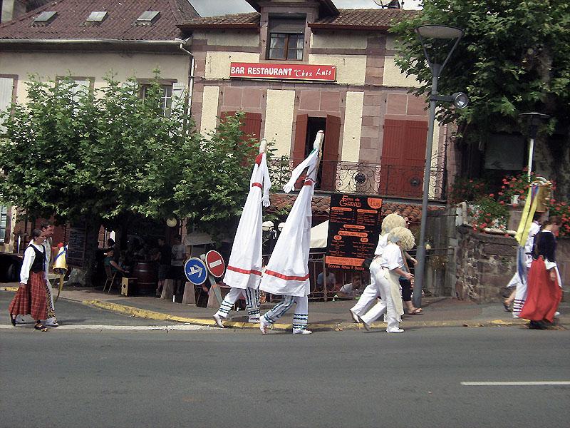 slavnosti v Saint Jean Pied de Port