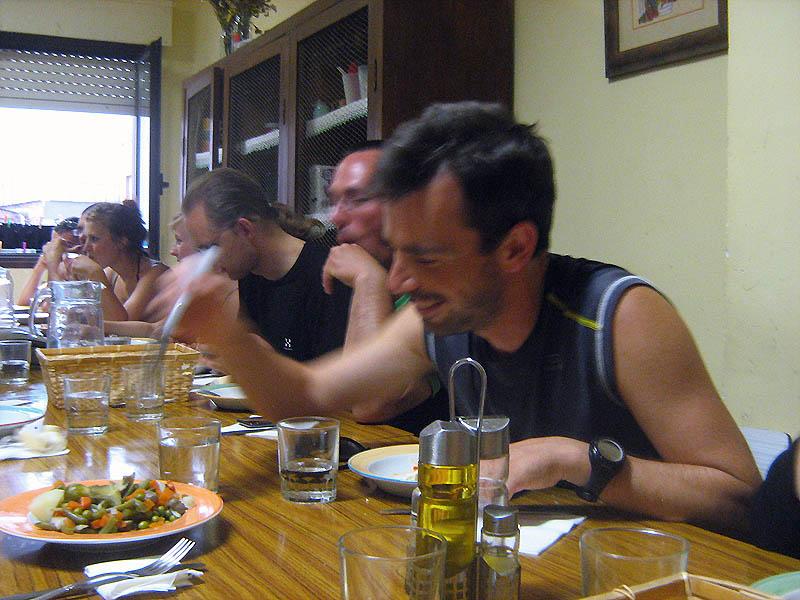 společná večeře