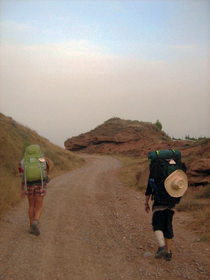 cesta do kopců