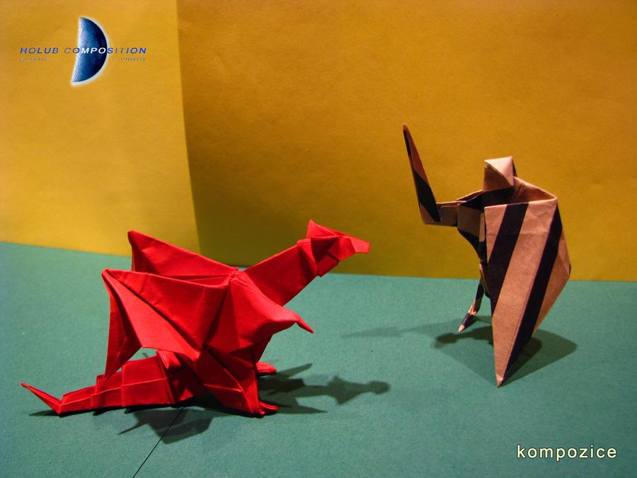 origami kompozice