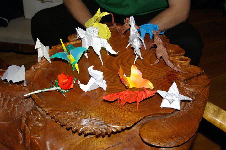 origami ukázky